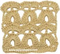 Resultado de imagen para puntos crochet