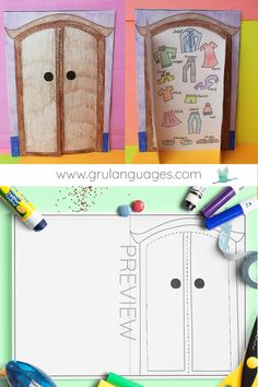 Vocabulary Activities, Teaching Activities, Preschool Worksheets, Preschool Activities, Preschool Weather Chart, Clothes Worksheet, English Clothes, Teaching Outfits, Clothes Crafts