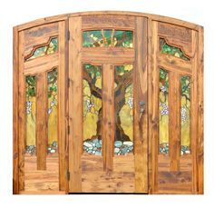 Craftsman Door - Greene & Greene Style Doors - 8429AC