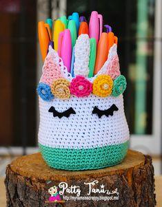Unicornio por Patty Tanúz #Unicorn #Unicornio #Crochet