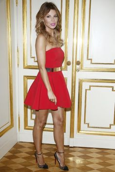 Edyta Górniak Sexy Outfits, Sexy Dresses, Cute Dresses, Girl Outfits, Formal Dresses, Nice Legs, Celebs, Celebrities, Sexy Legs