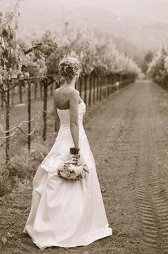 And this is why I want a winery wedding! Stunning!! Richard Wood Photographics, Napa
