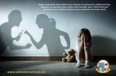 One of the most tragic areas of teaching violence prevention where I often feel helpless is not being able to reach those who need it most because those who are supposed to educate, nurture, and support are the problem! #trauma #childhoodtrauma #abuse #childabuse #domesticviolence Parents Séparés, Unspeakable Joy, Prayers For Hope, Gift Of Faith, Feeling Unloved, Child Custody, Dysfunctional Family, The Day Will Come, Domestic Violence