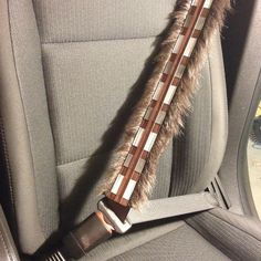 (affiliate link) Star Wars Chewbacca Seat Belt Cover