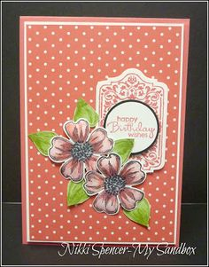 My Sandbox: Flower Shop & Polka Dot's...