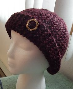 One more entry in my vintage inspired hat series named for the gals in my knitting circle.