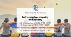 Events - Empathic Way Europe Nonviolent Communication, Empathic, Blaming Others, Honesty, We The People, To Tell, Self, Knowledge, Europe