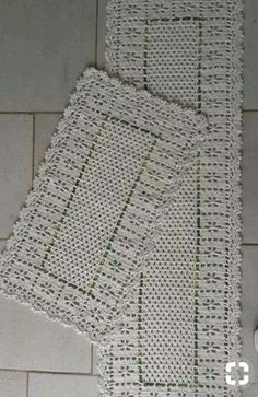 25 Ideas crochet decoracion home curtain patterns Filet Crochet, Crochet Doily Rug, Crochet Placemats, Crochet Table Runner, Crochet Home, Thread Crochet, Knit Crochet, Crochet Curtains, Crochet Socks