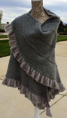 Knitting Pattern Name: The Champagne Run Shawl Pattern by: Molly Conroy