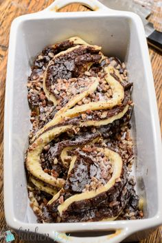 Chocolate Krantz Cakes