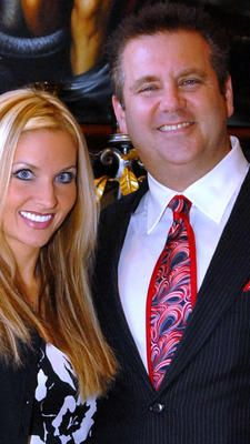 Happier times for Kim and Scott Rothstein. She is now in jail, he is doing 50 years and in witness protection.