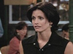 Monica Geller short hair