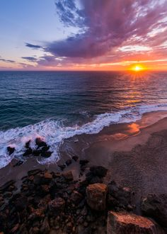 Point Dume State Park at Sunset, California - Photo by Adam Allegro