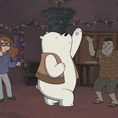 We Bare Bears Wallpapers, Panda Wallpapers, Cute Wallpapers, Ice Bear We Bare Bears, We Bear, Foto Cartoon, Bear Cartoon, Bear Wallpaper, Cartoon Wallpaper