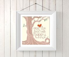 Hey, I found this really awesome Etsy listing at https://www.etsy.com/listing/201439615/and-the-tree-was-happy-the-giving-tree