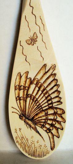 """Butterfly"", side view in flight. : ""Butterfly"", side view in flight. Wood Burning Stencils, Wood Burning Tool, Wood Burning Crafts, Wood Burning Patterns, Wood Crafts, Stencil Wood, Diy Crafts, Pyrography Designs, Pyrography Patterns"