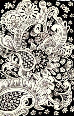 , Zen Tangled, Zentangle Art, Art