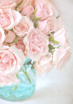 Pastel romantic flowers
