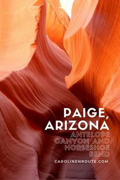 Paige, AZ has much to offer for such a small town. Great Mexican food, but more importantly Antelope Canyon and Horseshoe Bend.