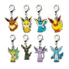 Eevee and 7 Evolution Pokémon Minis (Evo 8 Pack)