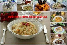 Primi piatti per la vigilia di natale