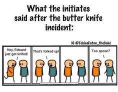 """This pun about Edward's attack:   17 """"Divergent"""" Puns That Are So Bad They're Good"""