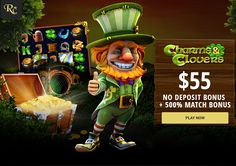 Exclusive $55 No Deposit + 500% Match Bonus at Rich Casino