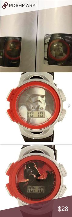 Star Wars LCD watch - Bundle of 2 NEW watches Bundle of 2 Star Wars LCD watch   - Darth Vader - Storm Trooper  New Bundle of 2 watches Disney Accessories Watches