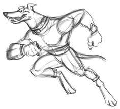 #commissioned #illustration #sketch: #greyhound #mascot #drawing #cartoon @CorelPainter @Wacom #cintiq