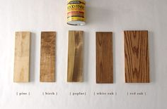 Red Mahogany Stain, Red Oak Stain, Red Oak Wood, Stain On Pine, Dark Walnut Stain, Minwax Stain Colors, Minwax Wood Stain, Varathane Stain, Wood Floor Stain Colors