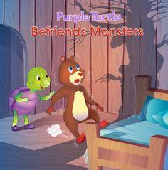 Purple Turtle, Good Morals, Monster S, Learn To Read, Sleepover, Children's Books, Entertainment, Invitations, Adventure