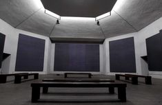 The Rothko Chapel's stillness refreshes some visitors; others look bewildered…
