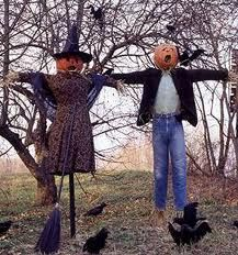 scarecrows, too!