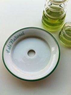 Rare saucer - absinthe