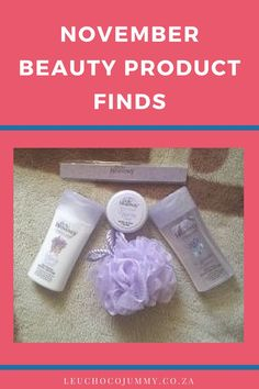 With tired head and feet, I decided to share some of my November beauty product finds with my favorite readers. Being a house bunny, I haven't really gone shopping in weeks excluding few online shopping *grin*. Today, I decided to get few things after several planning and rewriting of shopping list.