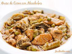 Guiso de Carne con Alcachofas