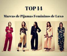 Top 14 Marcas de Pijamas Femininos de Luxo 5ba2d1e77