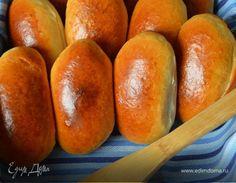 Пирожки по-сибирски с солеными груздями. Ингредиенты: кефир, дрожжи сухие, соль