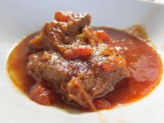 ternera en salsa receta