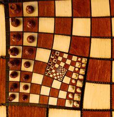 Fractal Chess Board