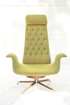 mid century curved couch mid century modern tufted curved yellow lounge chair