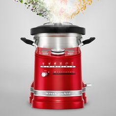 Ce nouvel appareil tout-en-un va révolutionner votre cuisine.Retrouvez la simplicité, la maîtrise et la précision tout en appréciant le design élégant et intemporel de KitchenAid.Laissez votre créativité culinaire s'exprimer par la simple pression d'un bouton.