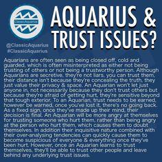 """3,566 Likes, 207 Comments - ♒️♒️♒️⠀⠀⠀⠀⠀AQUARIUS (@classicaquarius) on Instagram: """"AQUARIUS & TRUST ISSUES? #ClassicAquarius #Aquarius #Aquarian"""""""