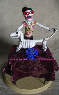 Day of the Dead Dog Show by claylindo, via Flickr