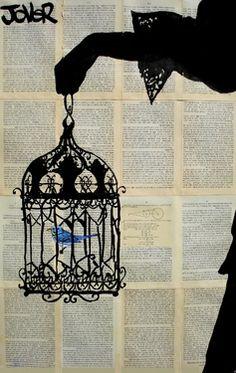 """Saatchi Online Artist Loui Jover; Drawing, """"emmeline"""" #art                                                    do lips insted"""