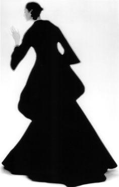 1stdibs.com | Lillian Bassman - Charles James Dress, Carmen, New York, Harper's Bazaar