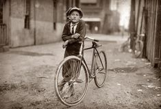 Lewis Hine, Big Wheel in Waco, 1913 ©
