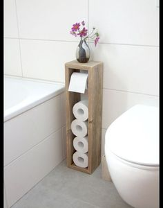 Toilettenpapierhalter, Klopapierhalter – Klopapierhalter – Badezimmer – Mit Lieb… Toilet Paper Holder, Toilet Paper Holder – Toilet Paper Holder – Bathroom – Handmade with Love in Hatten, Germany by Klaus Heilmann Diy Bathroom, Diy Furniture, Cozy House, Diy Home Decor, Toilet Paper Stand, Apartment Budget, Bathroom Decor, Diy Home Decor On A Budget, Rustic House
