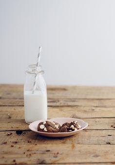 Biscuits faciles aux deux chocolats
