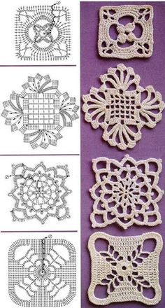 Transcendent Crochet a Solid Granny Square Ideas. Inconceivable Crochet a Solid Granny Square Ideas. Crochet Motif Patterns, Crochet Blocks, Square Patterns, Crochet Diagram, Crochet Squares, Crochet Granny, Crochet Doilies, Crochet Flowers, Granny Squares